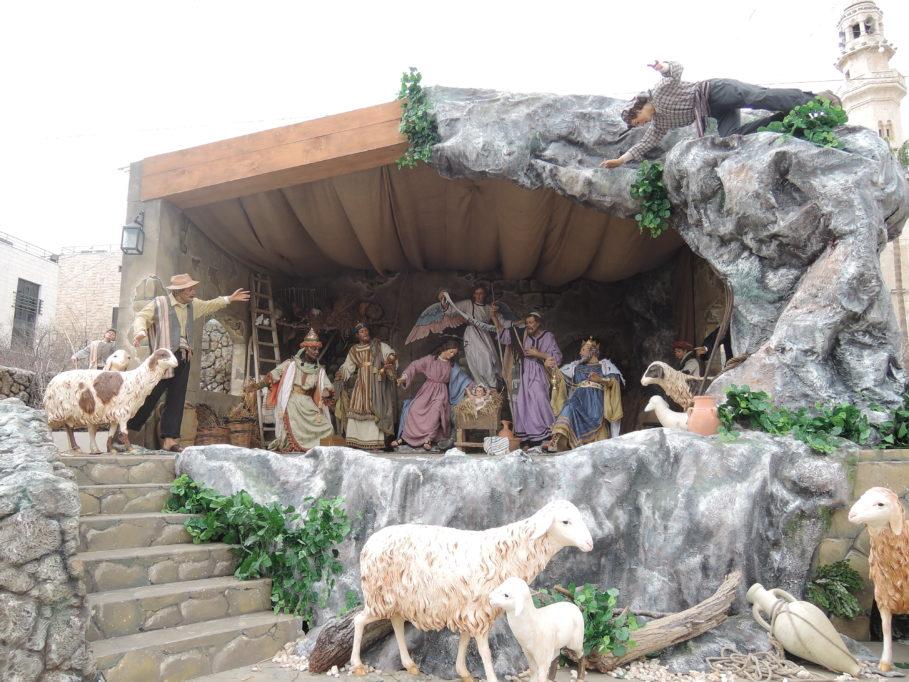 Krippe aus Malta zu Gast in Bethlehem